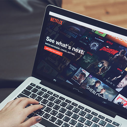 netflix streaming service password save security