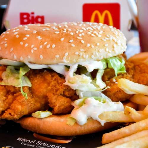 The Scary Reason Doctors Say You Should Never Order A Chicken Sandwich At McDonald's