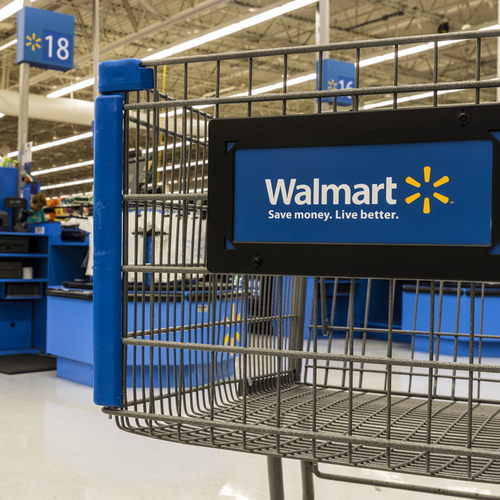 Walmart shopping cart