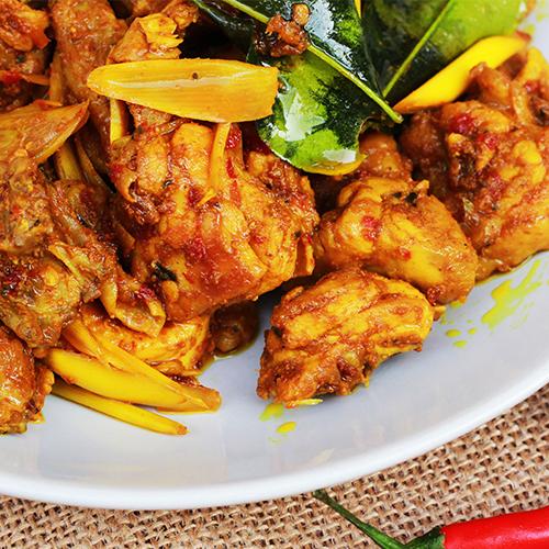 Turmeric Chicken and Potatoes