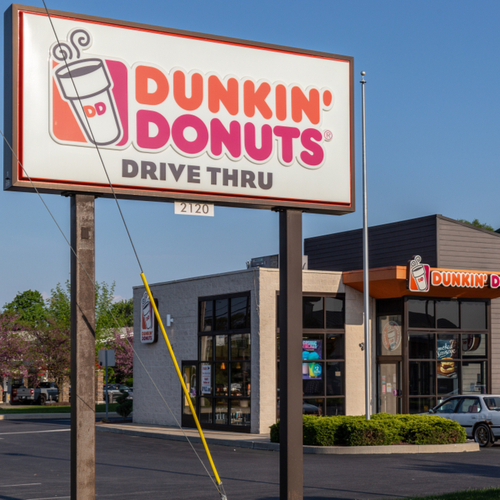 Dunkin' Donuts Just Added The Most Unexpected Item To It's Menu--Would You Eat This?!