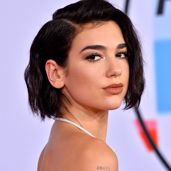 Dua Lipa Just Wore A Completely Sheer Gown--You Can See Everything!
