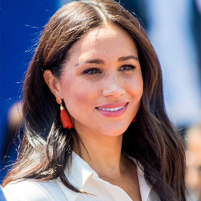 We Can't Believe Meghan Markle Was Allowed To Wear A Top THIS Racy—It's SO Low-Cut!