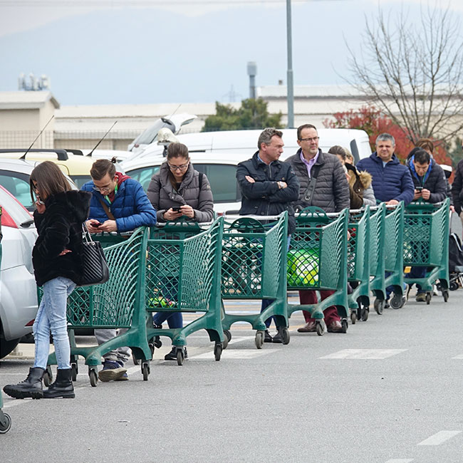 The Secret Hack People Are Using To Never Wait In Grocery Lines During The Pandemic