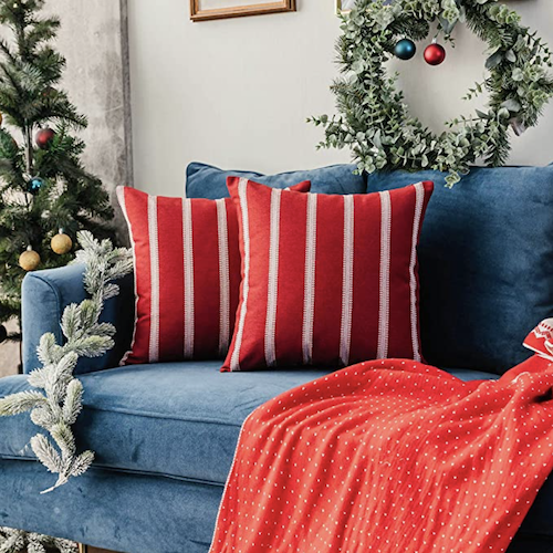Instantly Upgrade Your Christmas Decor With These Cheap Pillow Covers From Amazon Shefinds