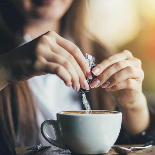 artificial sweetener in coffee