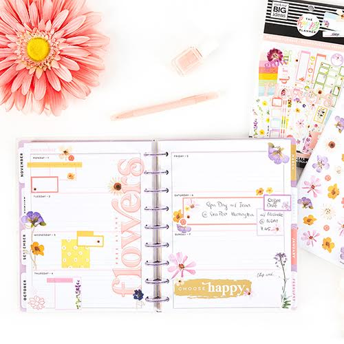 Don't Miss the New Spring Goodies (On Sale Just For You!) From The Happy Planner