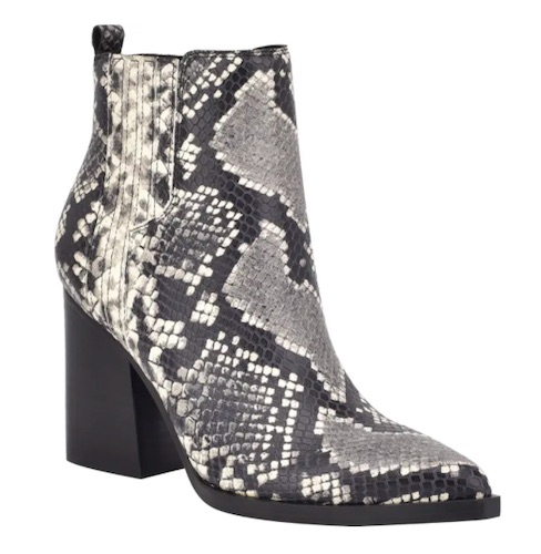 Oshay Pointed Toe Bootie