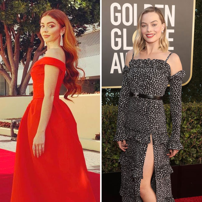 Celebs Wore Next To Nothing At The Golden Globes--It's Unreal!