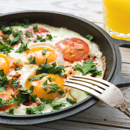 The One Egg Recipe You Should Make Every Morning Because It Basically Melts Belly Fat