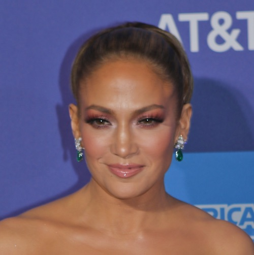 Jennifer Lopez Basically Flashed The Camera In This High-Slit Dress For A Photoshoot--Whoa!
