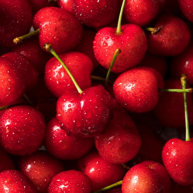 3 ingredient coconut cherry lime smoothie recipe