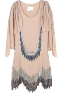 3.1 phillip lim beaded flapper dress