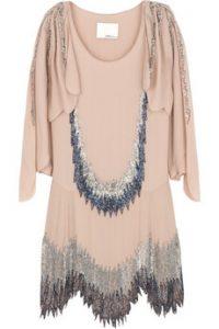 3.1 phillip lim beaded flapper dress