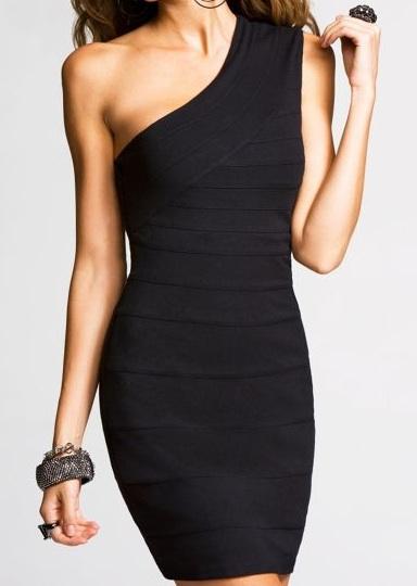 Celebrity Style - Kate Winslet - One Shoulder Black Dresses