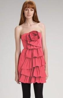 BCBG Rosette Dress