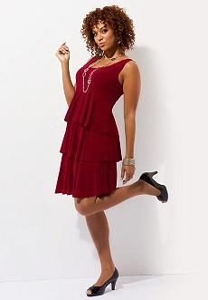 Caycee Tiered Dress
