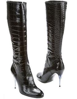Charles David Chester Tall Crocodile Boot