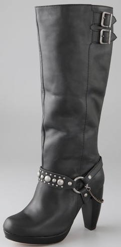 Charlotte Ronson Harness Boots