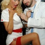 christina-aguleira-as-a-sexy-nurse