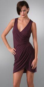 Diamond Wrap Dress