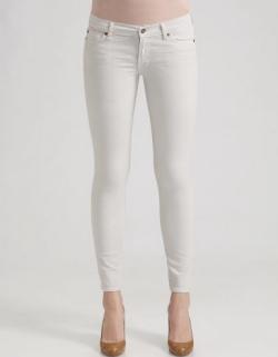 Gwen White Jeans