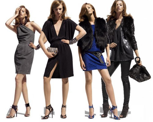 nonsecret photos from jimmy choo for h and m hit the