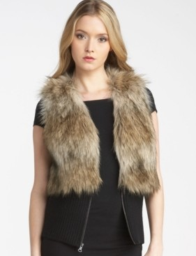 JC Fake Fur Vest 298