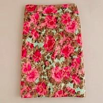 Jardin Jacquard Skirt