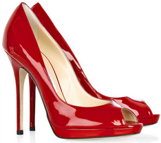 Red Open Toe Heels | Fs Heel