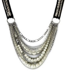 Juicy Couture Multi Strand Tie Necklace