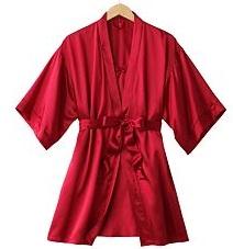Kimono Robe and Chemise Set