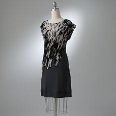 LC Lauren Conrad Brushstroke Dress