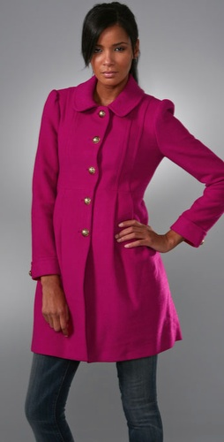Fashion Math: Can A Bright Magenta Coat Compete With The Classics?
