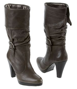 Matisse Villager Leather Platform Boot with Buckle