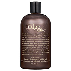Philosophy Fudge Cake Shampoo Shower Gel Bubble Bath
