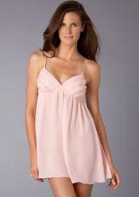 Flora pink chemise