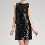 how to wear a sequin dress