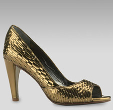 Cole Haan metallic sandal
