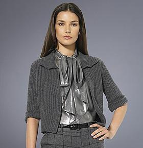 Lauren by Ralph Lauren silk cashmere cardigan
