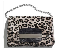 Jimmy Choo for H&M leopard print bag