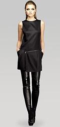 Gucci sleeveless zippered mini dress