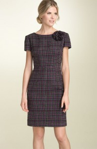 Plaid sheath flower
