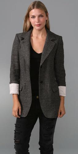 SMYTHE Tweed Blazer