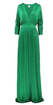 Длинное зеленое платье Halston.  Цена творений Паркер от 195 долларов за.
