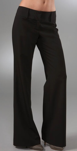 comfortable black work pants - Pi Pants