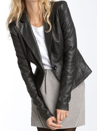 Leather Jacket Blazer Style | Outdoor Jacket