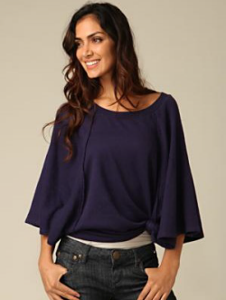 Voluminous Pullover Top