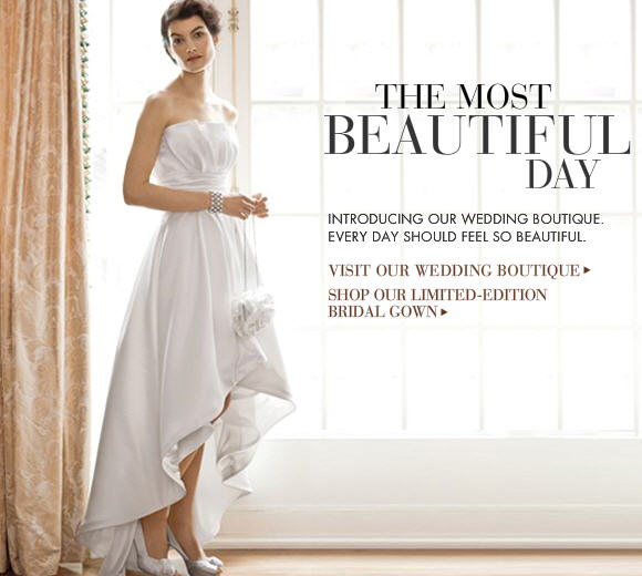 Cool Stuff From Mall Stores White House Black Market Jumps On The Bridal Bandwagon