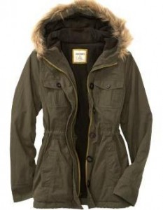 green military jacket for women